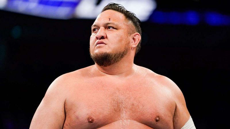 Samoa Joe (during his WWE run)