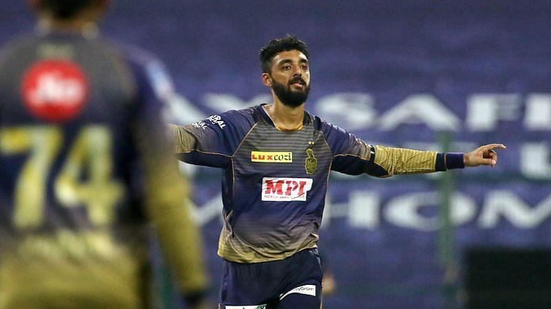 Varun Chakravarthy Pic: IPLT20.COM