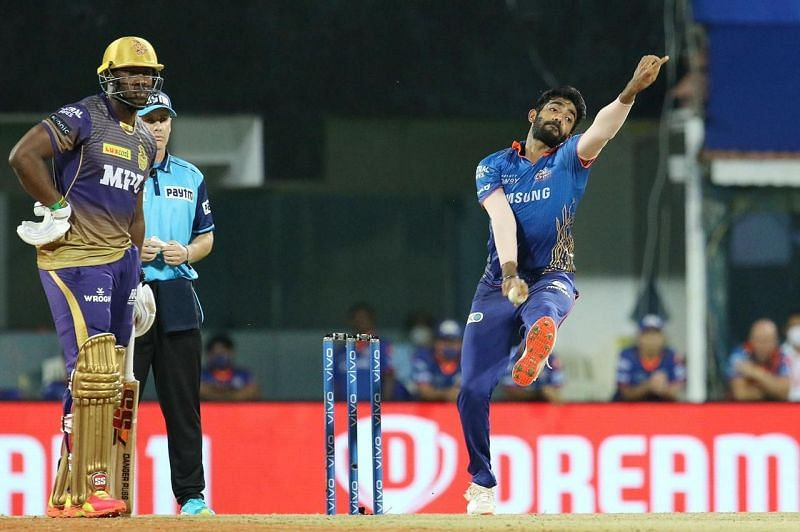 Jasprit Bumrah will look to be among the wickets against RR