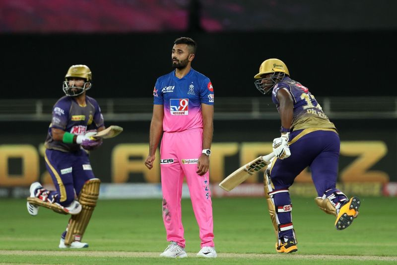 The Rajasthan Royals and the Kolkata Knight Riders will battle at Wankhede Stadium on Saturday. (Image Courtesy: IPLT20.com)