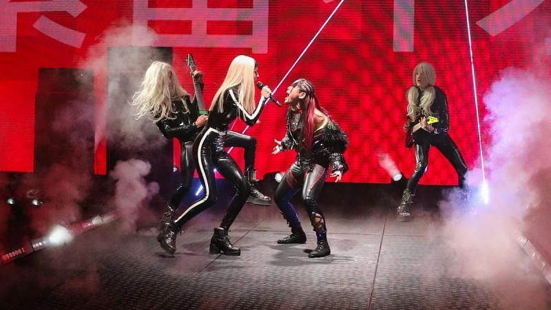 Poppy performing at NXT
