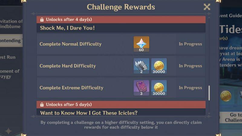 """Shock Me, I Dare You!"" reward (Day 6)"