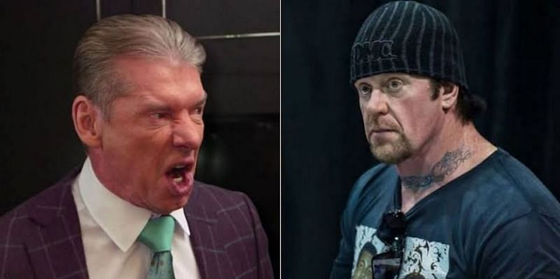 Vince McMahon and The Undertaker