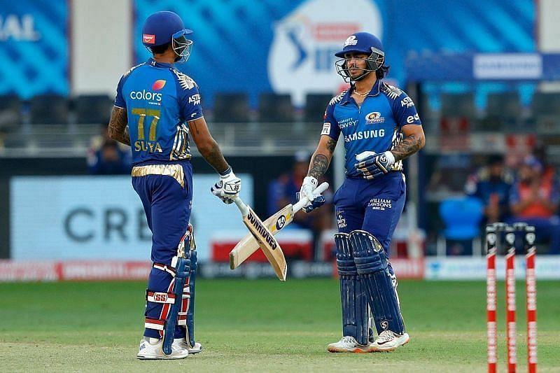 Mumbai Indians will hope for more consistent performances from Suryakumar Yadav and Ishan Kishan.