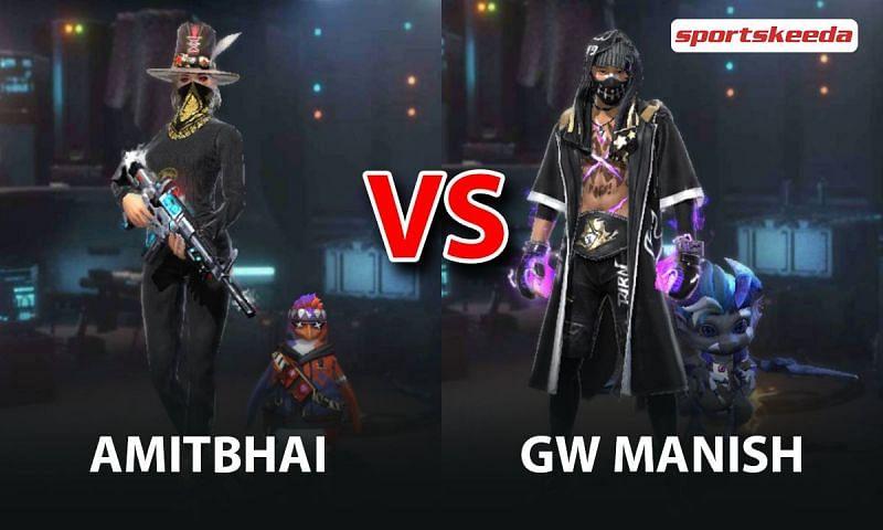 Amitbhai vs GW Manish in Free Fire
