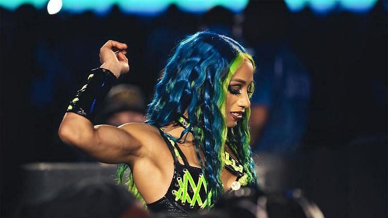WWE सुपरस्टार साशा बैंक्स