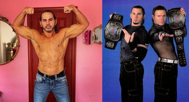 Matt Hardy wants to finish his wrestling career with a Hardy Boyz reunion.