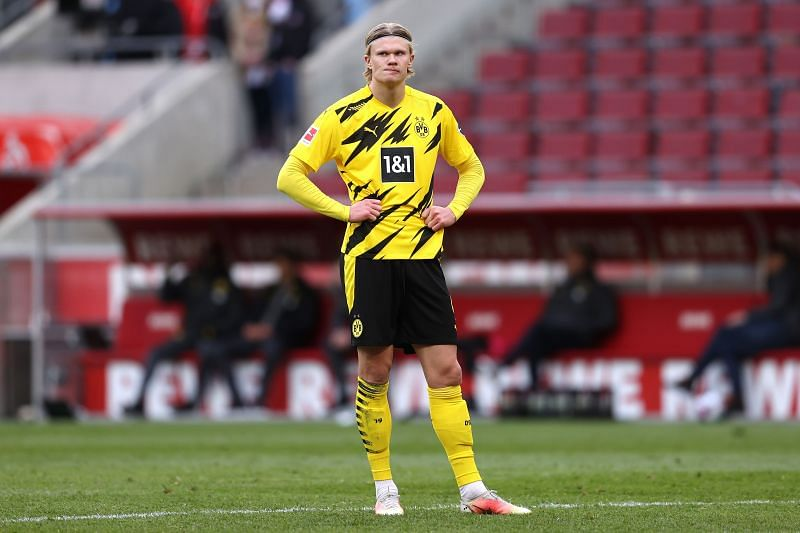 Haaland is set to leave Borussia Dortmund in the summer.