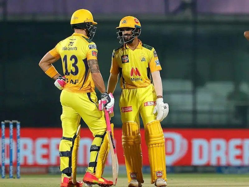 Ruturaj Gaikwad and Faf du Plessis starred in an emphatic win for CSK over SRH