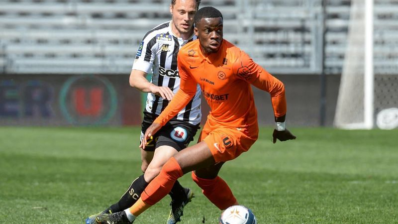 Stephy Mavididi has been in top form for Montpellier in recent weeks