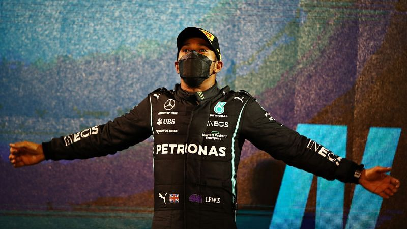 Lewis Hamilton has scored the most points in a season. Photo: Mark Thompson/Getty Images.