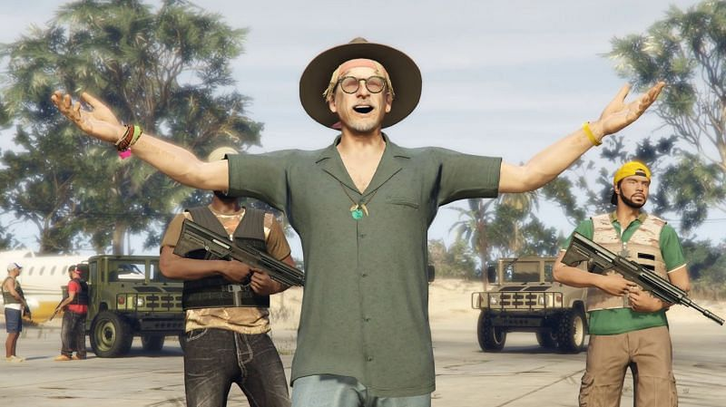 Contact missions are like story-mode missions from GTA 5(Image via rockpapershotgun.com)