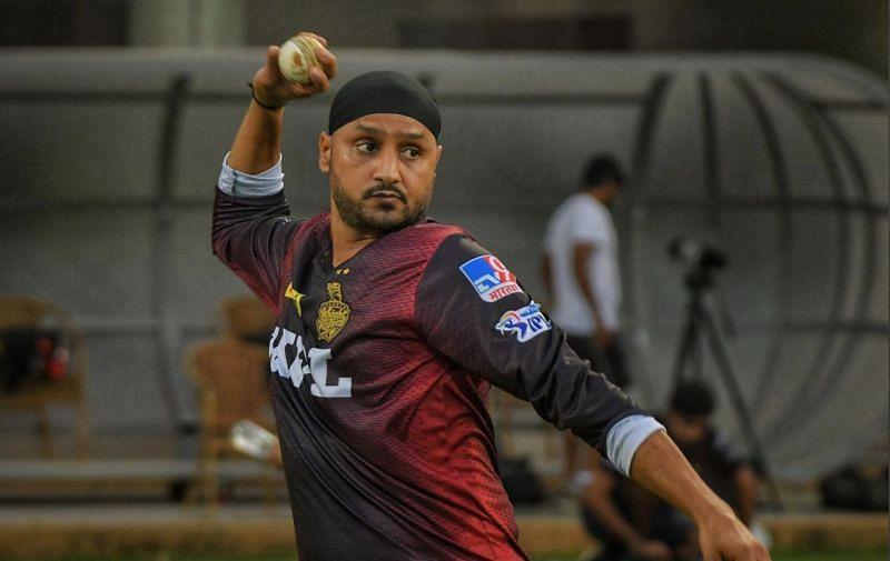 Harbhajan Singh. Pic: KKR