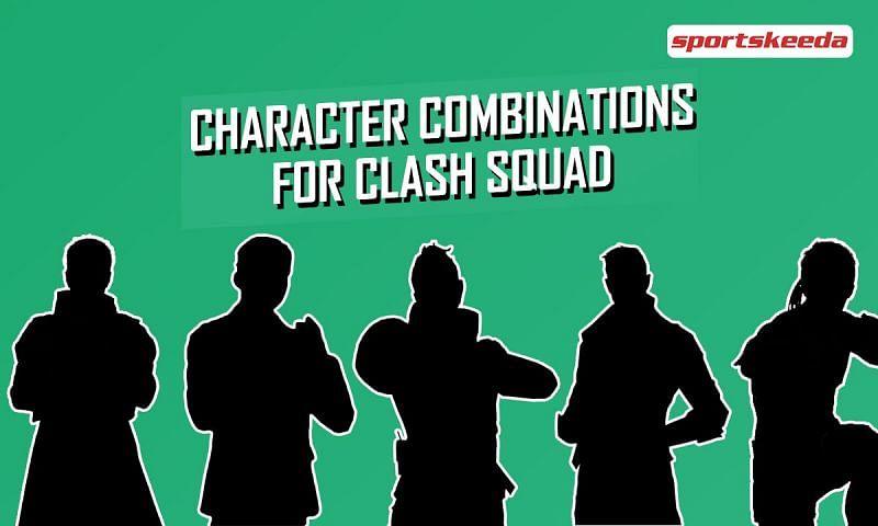 Character combinations for Clash Squad (Image via Sportskeeda)