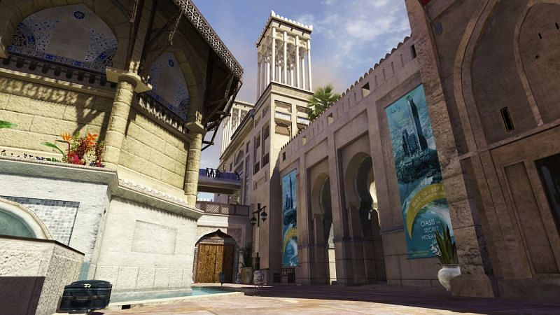 Oasis is based on a map from COD Modern Warfare 3 (Image via Activision)