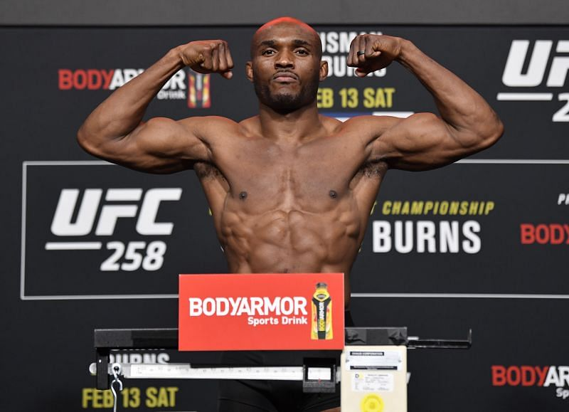 Kamaru Usman could easily move up to middleweight