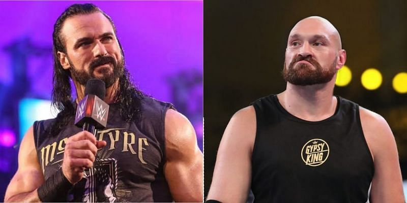 Drew McIntyre and Tyson Fury