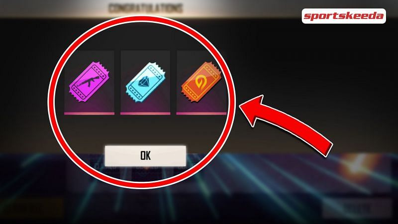 Redeem code for Diamond Royale, Weapon Royale and Incubator vouchers