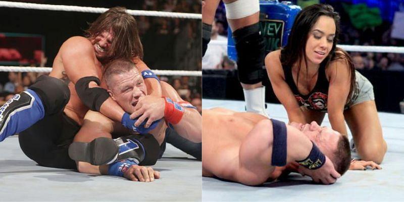 WWE दिग्गज एजे स्टाइल्स और एजे ली