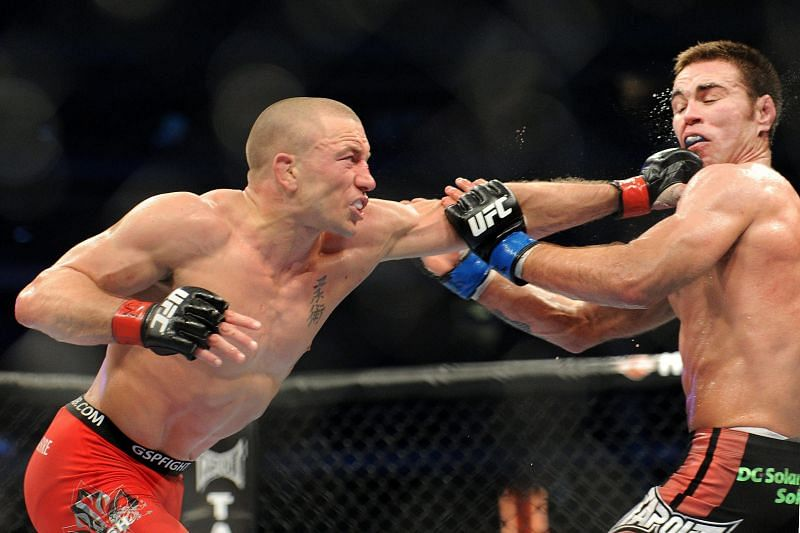 Georges St. Pierre used the Superman punch to devastating effect during his UFC tenure.