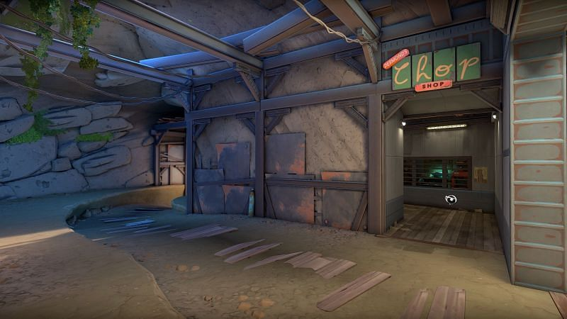 One part of the new Breeze map in Valorant (Image via Riot Games)