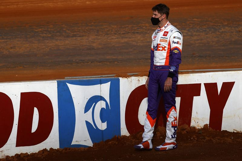 NASCAR Cup Series Food City Dirt Race Practice. Photo: Chris Graythen/Getty Images.