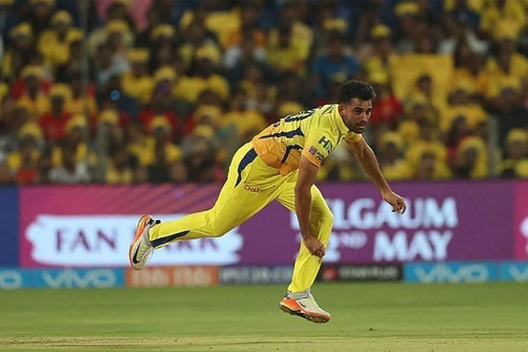 Deepak Chahar Pic: IPLT20.COM