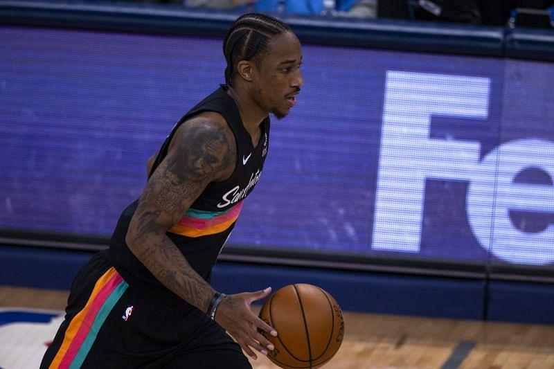 DeMar DeRozan will be in the 2021 NBA free agency market this off-season.