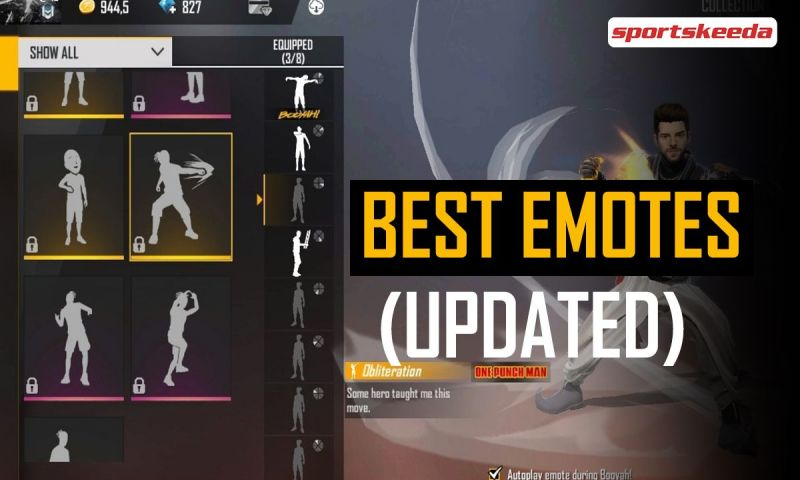 Discussing the best Free Fire emotes of all time.