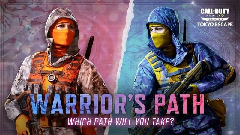 Players have to choose their side (Image via Activision)