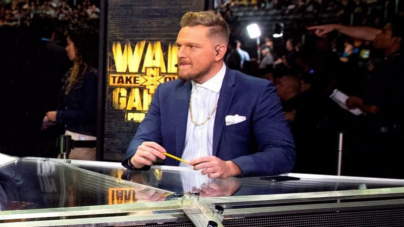 Pat McAfee began working for WWE in 2018