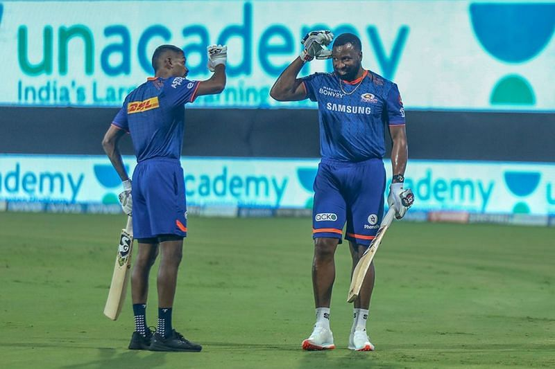 The finishers of the Mumbai Indians team have not fired all cylinders in IPL 2021 (Image courtesy: IPLT20.com)