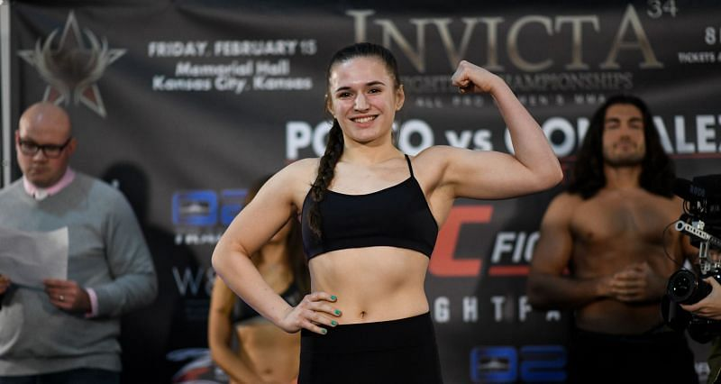 21-year-old Erin Blanchfield is one of the youngest fighters on the UFC roster