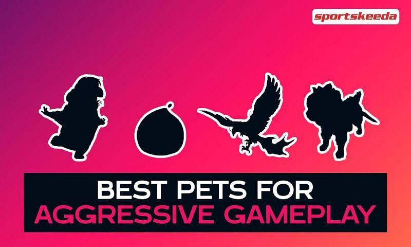 Free Fire pets for aggressive gameplay (Image via Sportskeeda)