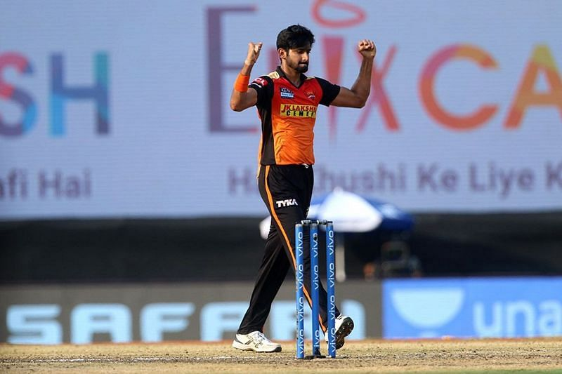 Khaleel Ahmed was on the bench during the initial matches this season. (Image Courtesy: IPLT20.com)