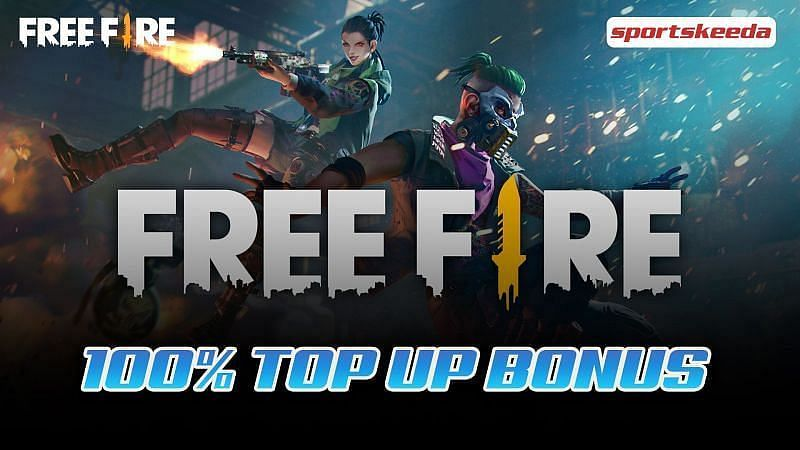 How to get 100% Top Up Bonus in Free Fire