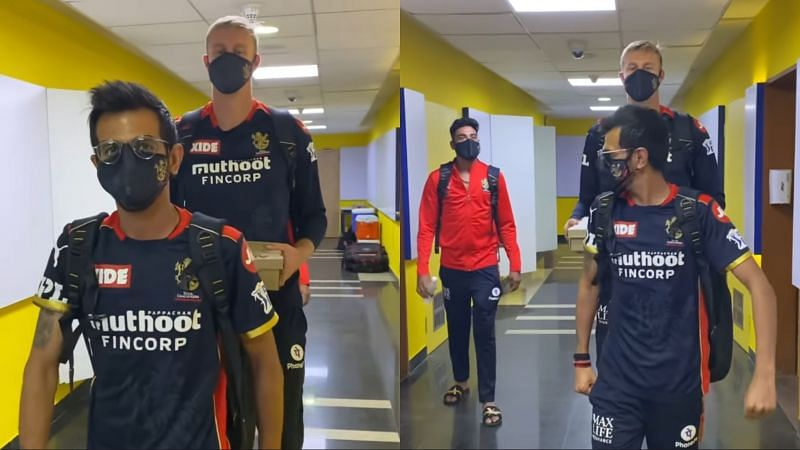 Yuzvendra Chahal and Kyle Jamieson recreated The Undertaker