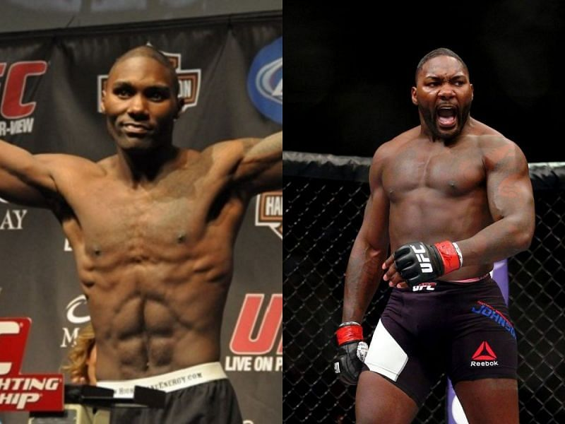 Anthony Johnson was nearly unrecognizable after moving up in weight.