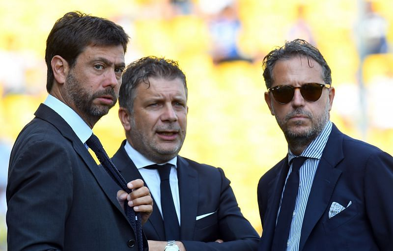 Andrea Agnelli (left) and the Juventus board have big decisions to make this summer.