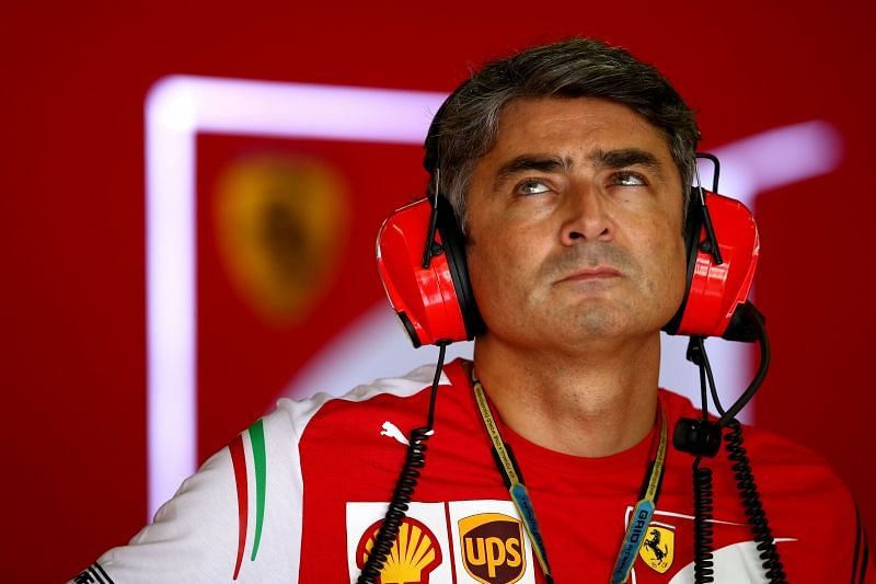 Former Ferrari team principal Marco Mattiacci is set to join Aston Martin. Photo: Clive Rose/Getty Images.