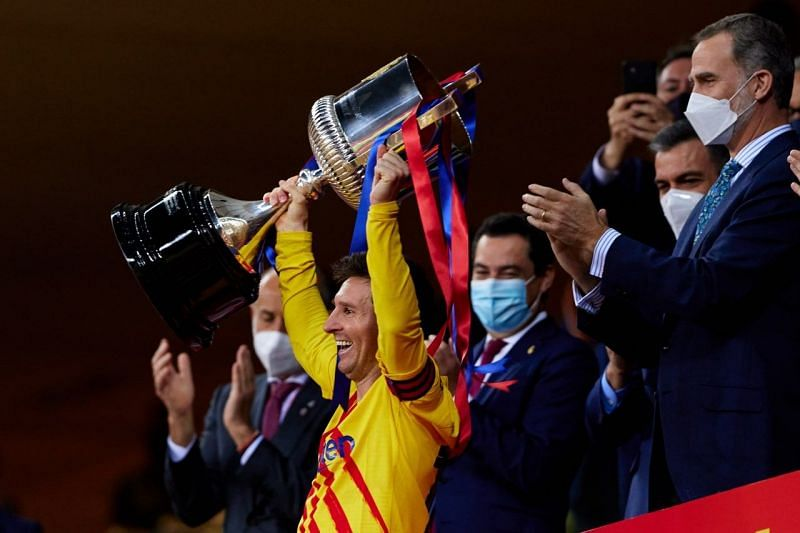 Barcelona defeated Athletic Bilbao in the final of the Copa del Rey.