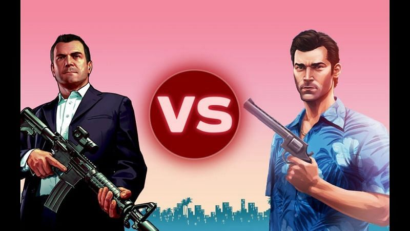 What makes a fight between Michael De Santa and Tommy Vercetti interesting is how different they are (Image via Little Jimmy, YouTube)