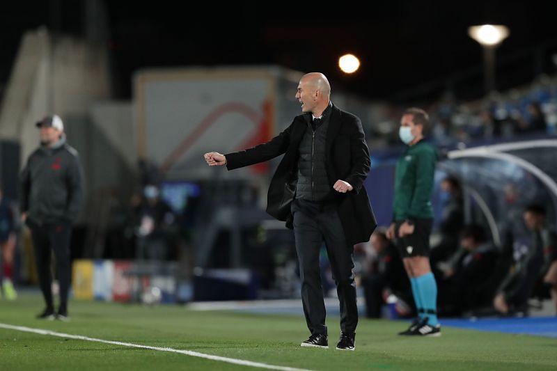 Zinedine Zidane was happy with his team
