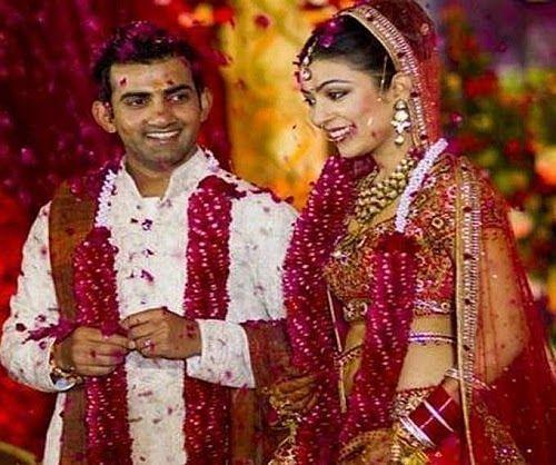 Gautam Gambhir Wedding with Natasha Gambhir