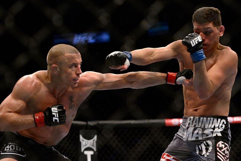 Georges St-Pierre vs Nick Diaz