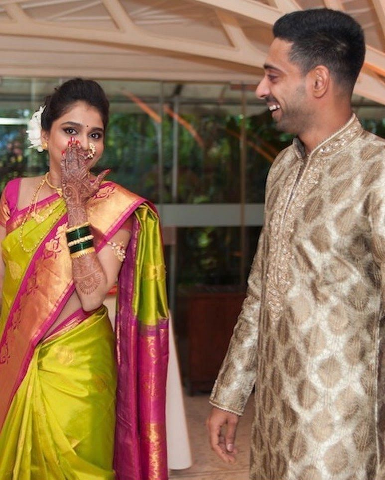 Dhawal Kulkarni's Lovely Pic with Shraddha Kharpude