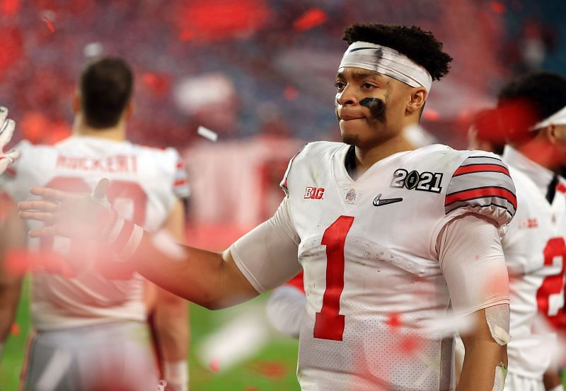 The Bears Hope They Have Their Long Term Solution At Quarterback With Justin Fields.