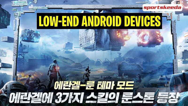 Best games like PUBG Mobile KR for low-end Android devices