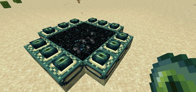 To get to the ender dragon you will need access to an end portal, which can only be found in strongholds within survival mode.