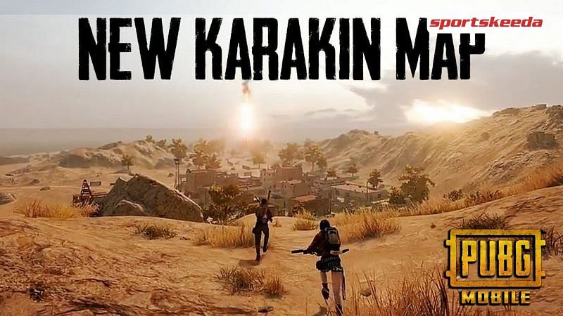 The Karakin map was finally introduced in PUBG Mobile today, i.e., April 7, and will replace Vikendi (Image via Sportskeeda / PUBG Mobile)